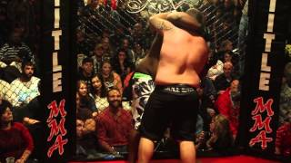 Lawrence Bonds vs Jason Figliano AFC Thankgiving Day Bash MMA Mich