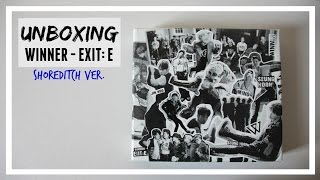 UNBOXING: WINNER - EXIT MOVEMENT : E shoreditch ver. // MLSS