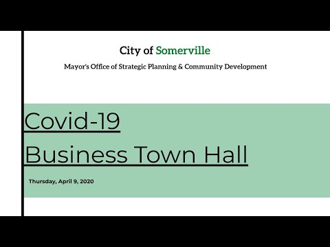 Business Town Hall-4.9.2020 SBA Update