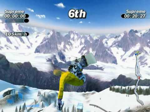 Supreme Snowboarding Boarder Zone PC Game My very best