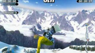 Supreme Snowboarding (Boarder Zone) PC Game : My very best tricks