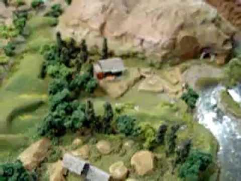 HO Scale Gauge Model Train Layout video DeWitt Clinton John Bull The Lafayette XRDaddy