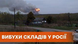 Взрыв на день рождения Путина. В Желтухино под Рязанью горят военные склады