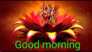Happy Navratri and good morning