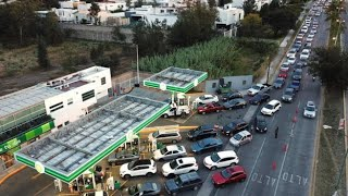 Why are there fuel shortages in Mexico?
