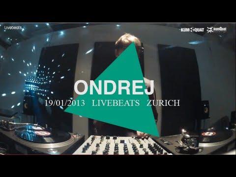 Ondrej @ Livebeats Studio Zurich 2013 | Kumquat Showcase