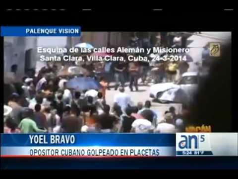 CUBA 28 03 2014 dsd ZORRO - cyber guarimba en Cuba