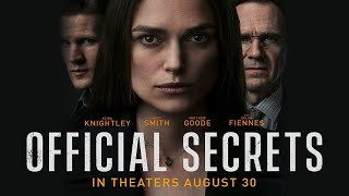 Official Secrets 2019 (Official Movie Trailer)