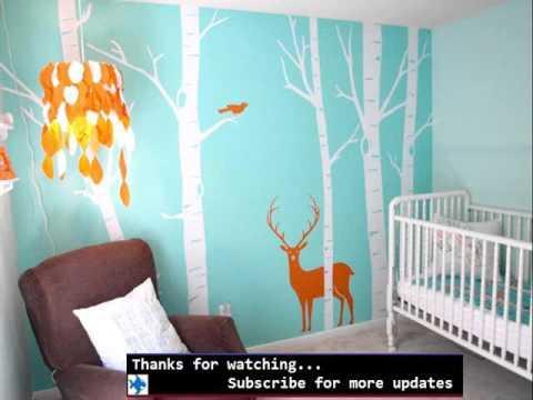 Girls Pink Bedroom Wallpaper Wall Murals For Baby Rooms Baby Room Murals Ideas Youtube