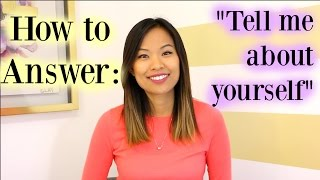 Tell Me About Yourself - A Good Answer to This Interview Question thumbnail