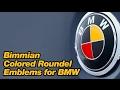 Bimmian.com Colored Roundel Emblems