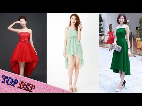 Top Các Mẫu đầm Váy đuôi Tôm đẹp Thời Trang Cho Các Bạn Nữ