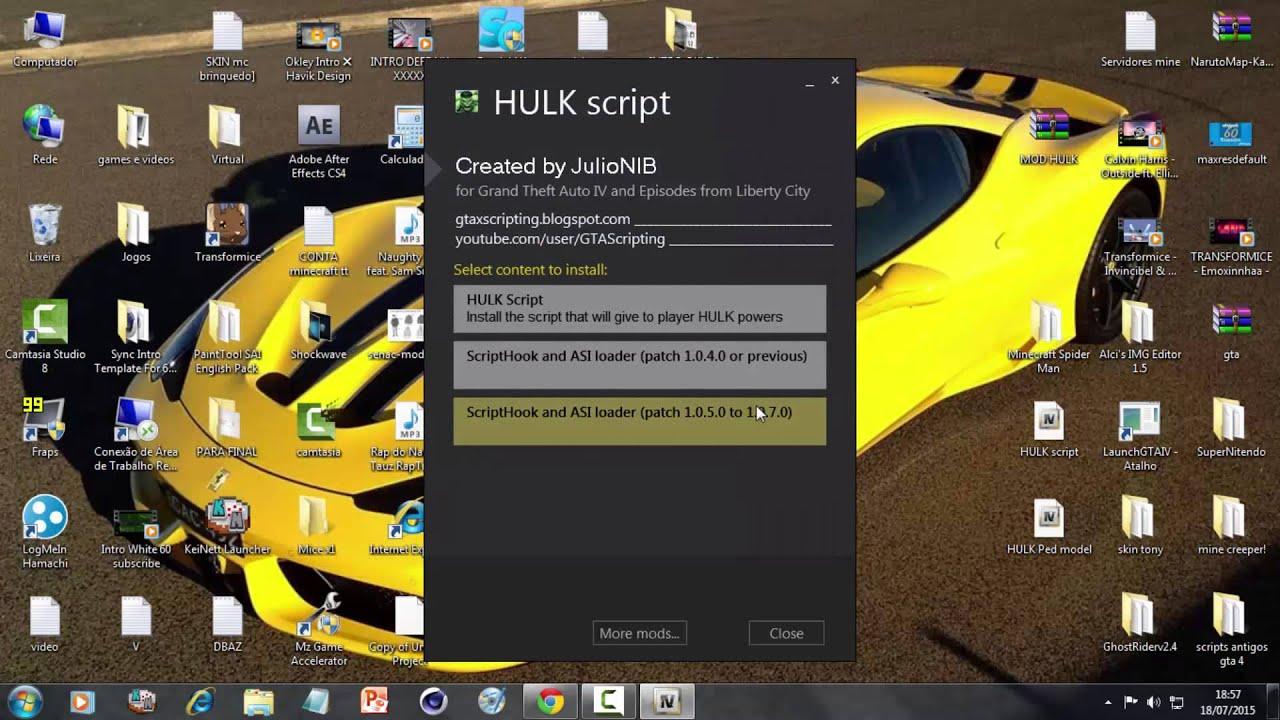 Como Instalar Gta 4 Hulk Mod Ps3 » procicadod cf