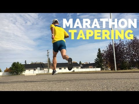 How To Taper Before A Race