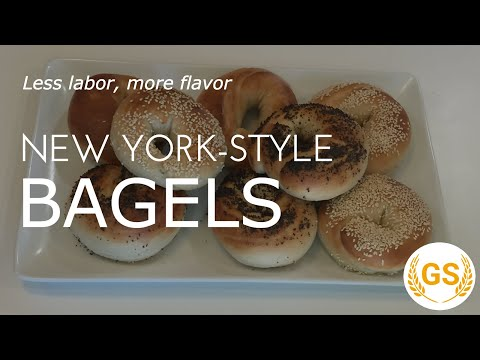 Simplified Homemade New York-Style Bagels – Only 6 Ingredients | Gluten Simplified