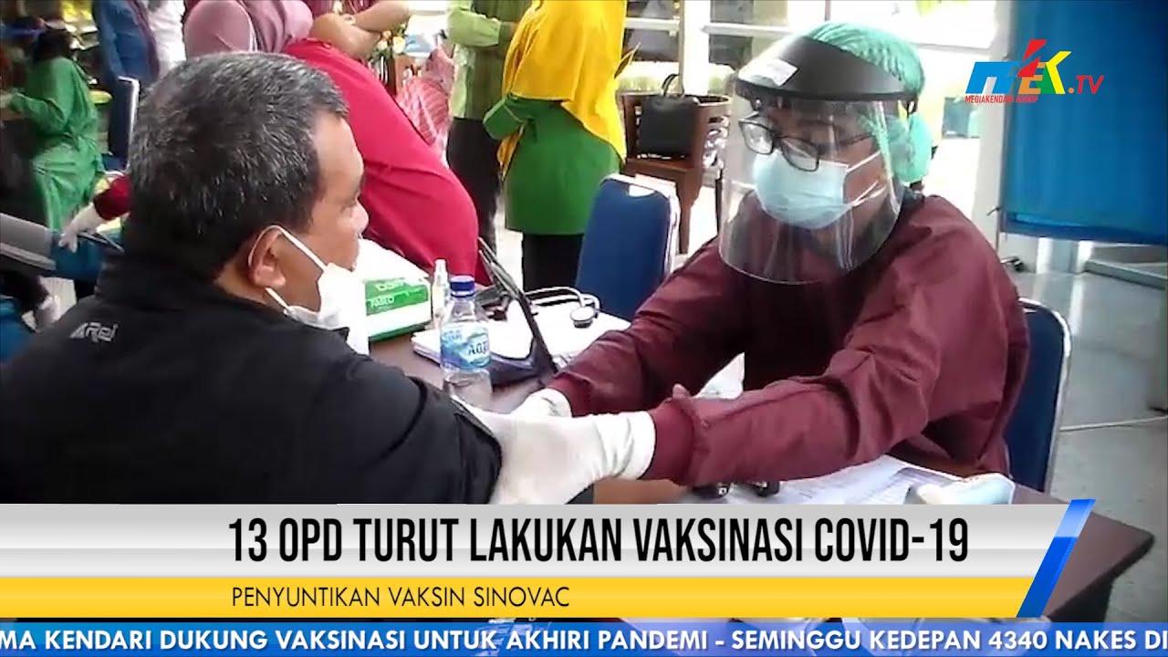 13 OPD Turut Lakukan Vaksinasi Covid 19
