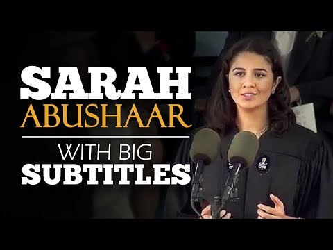 ENGLISH SPEECH | SARAH ABUSHAAR: The Harvard Spring (English Subtitles)