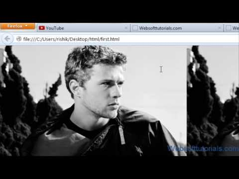 Html and Css Tutorial - 17 - How to add background image ...