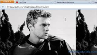 Html and Css Tutorial - 17 - How to add background image to html document