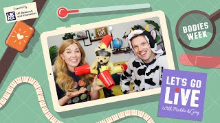 What is a vaccine & how do they work? (with UKRI) | #80 Let's Go Live with Maddie & Greg