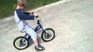 How to ride a bike without training wheels