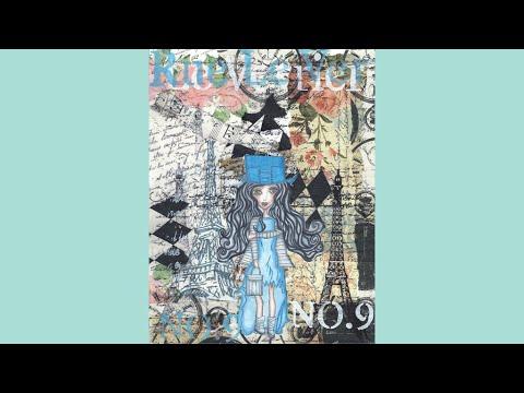 A Parisian Girl Mixed Media Art Journal Tutorial