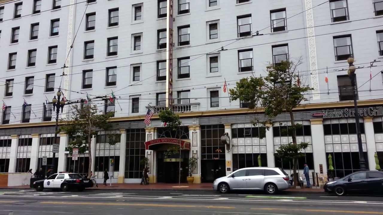 Hotel Whitcomb  Market Street San Francisco