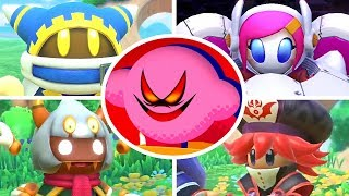 Kirby Star Allies - All Characters Trailers (Wave 1-3)
