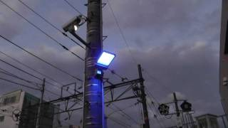 Japan Railroad Blue LED Suicide Prevention Light
