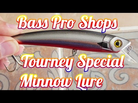 Bass Pro Shops Tourney Series Minnow // First Impressions