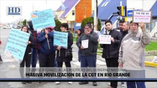Video: Masiva movilización de la CGT en Río Grande
