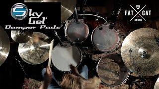 SkyGel Damper Pads // Product Review // Fat Cat Drums