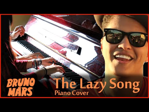 The Lazy Song - Piano Cover (4 Hands) - Sheet Music