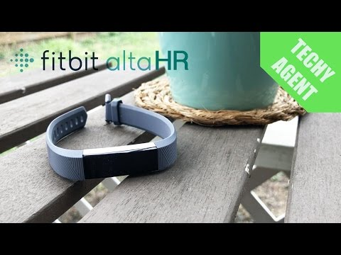 Fitbit Alta HR Review!!!