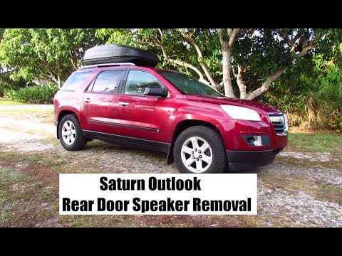 How to Replace Rear Door Speakers in Saturn Outlook