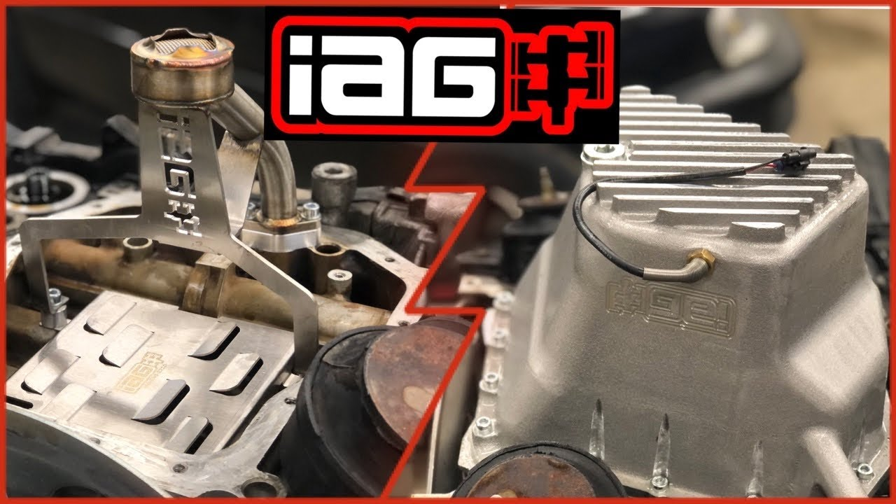 IAG Competition Oil Pan, Pick Up, And Windage Tray Unboxing, Review, and Install on JDM205