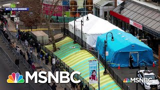 Inside A Nyc Hospital In An 'apocalyptic' Situation | The Last Word | Msnbc