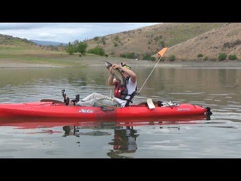 Kayak Fishing Oregon - Brownlee Catfish 2018 HD