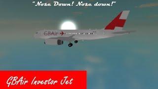 Roblox Flight -:- GBAir A320 -:- STALL