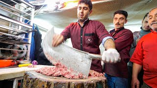 Download Meet the KEBAB KINGS of IRAN!! 🇮🇷SWORD CHOPPED Meat-Madness in Bonab! 🥩 Mp3 and Videos