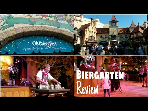 Biergarten Restaurant Review | Epcot, Walt Disney World Resort
