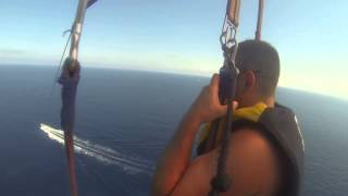 Chris & Claire Went Parasailing in Mallorca on their honeymoon