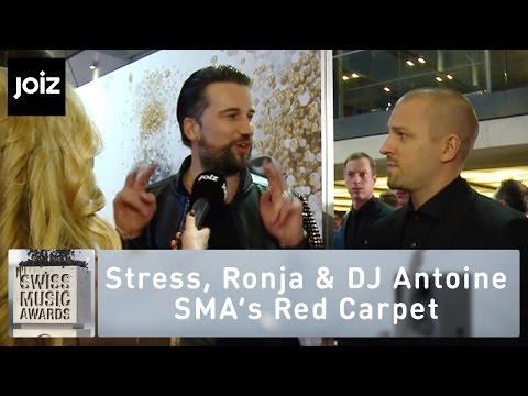 SMA 2015: Beim Interview mit Stress und Ronja Furrer mischt sich Dj Antoine ins Geschehen