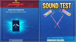 How To Get RENEGADE ROLLERS PICKAXE and BLOCKBUSTER CHALLENGES GUIDE in Fortnite Season 10!
