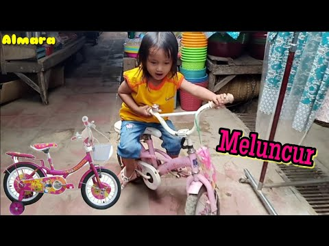 Ara Belajar Naik Sepeda Roda 4 Bekas Kk Alma