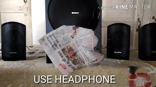 Sony SA-D100 4 1 Home theater amazing sound test full review in hindi