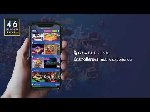CasinoHeroes Mobile App Review