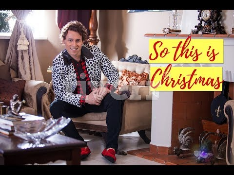 Jô Torquatto - So this is Christmas (Lyric Video) Cover
