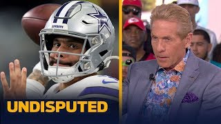 Skip Bayless reacts to Irvin's comments on Dak's contract extension   UNDISPUTED   LIVE FROM MIAMI