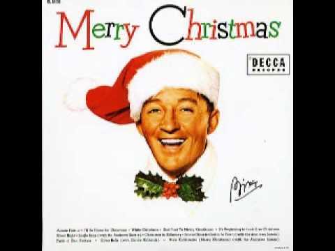 bing crosby christmas is a comin